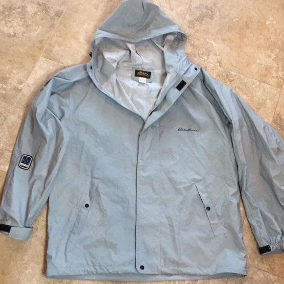 983513fa9cc3 Eddie Bauer Other - Eddie Bauer Men s Waterproof PVC Rain Jacket Gray